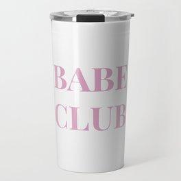 Babeclub white Travel Mug
