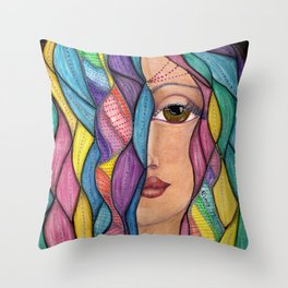 Hair Dayz - Regal Throw Pillow