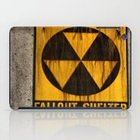 fallout iPad Cases featuring Fallout Shelter by Julie Maxwell