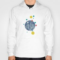 planets Hoodies featuring Planets by Tamsin Lucie