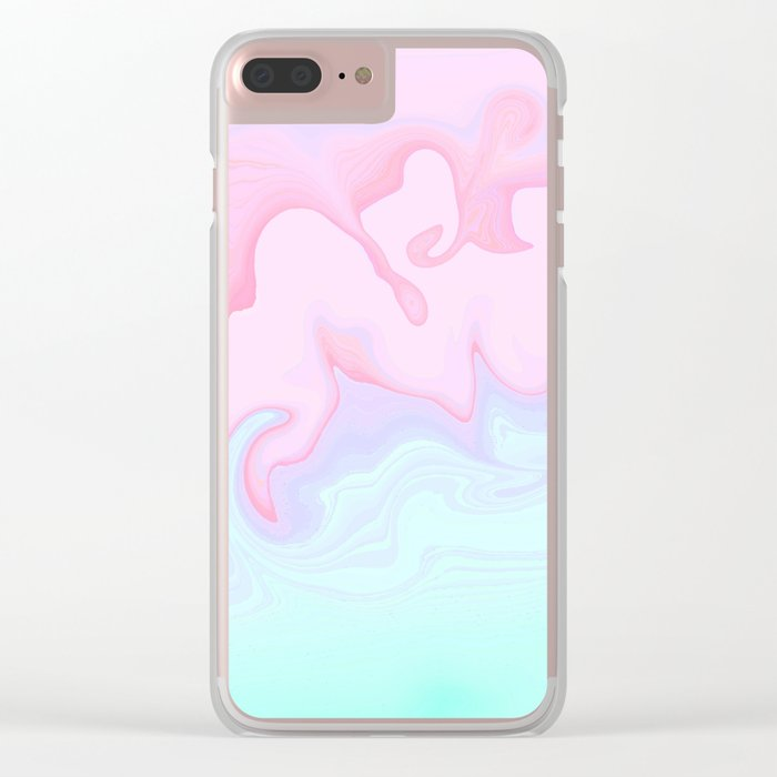 I could, but I won't Clear iPhone Case
