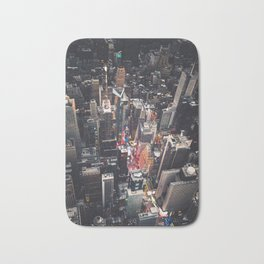 times square in new york Bath Mat