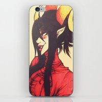 homestuck iPhone & iPod Skins featuring Witch of Time by Lokyism
