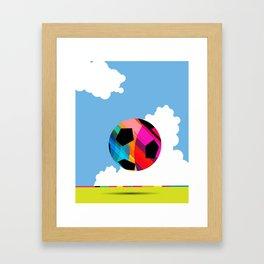 World Cup Soccer Framed Art Print