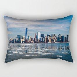 Take Me to New York Rectangular Pillow