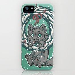 Kitten in a Wreath iPhone Case