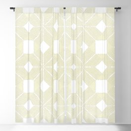Snowflakes #61, White Wishmas Blackout Curtain