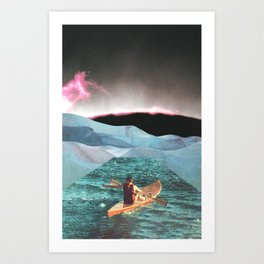 Gone Are The Days Art Print