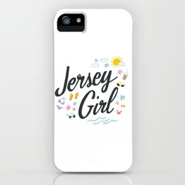Jersey Girl iPhone Case