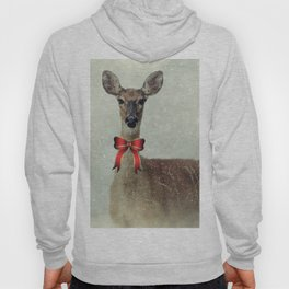 Christmas Deer Holiday Greetings Hoody