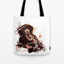 The Grinning Man Tote Bag