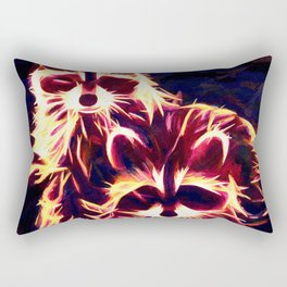 Midnight Bandits Rectangular Pillow