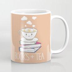 Books + Tea Mug