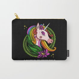 Magical Unicorn Believe In Yourself Carry-All Pouch