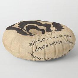 Poe Dream Floor Pillow