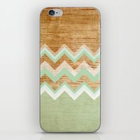 wood iPhone & iPod Skins featuring Wood by naidl