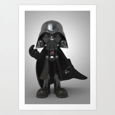 Skull Vader Art Print