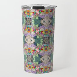 Otto the Grocer tessellation Travel Mug