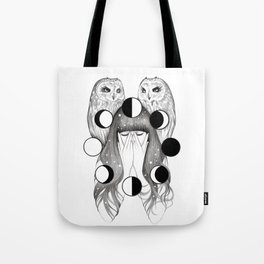 Moon Spells Tote Bag