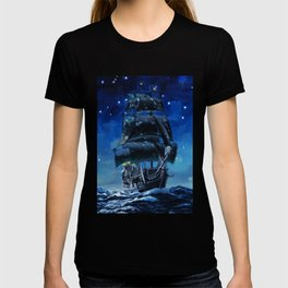 Black Pearl Starry Night T-shirt