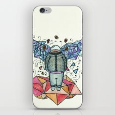 Alas Poligonales iPhone & iPod Skin