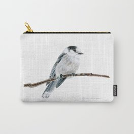 Gray Jay by Teresa Thompson Carry-All Pouch