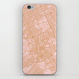 Riyadh map, Saudi Arabia iPhone Skin