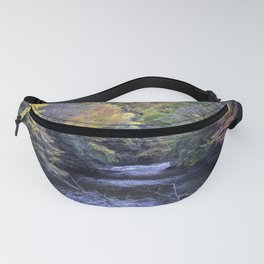 Autumn Forest River Fanny Pack
