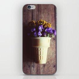 flower cone III iPhone Skin