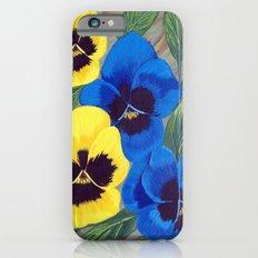 Pansies iPhone 6s Slim Case