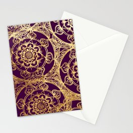 Mandala Luxe Stationery Cards