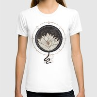 lotus flower T-shirts featuring Lotus by Hector Mansilla