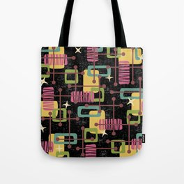 Mid Century Modern Abstract Pattern 836 Tote Bag