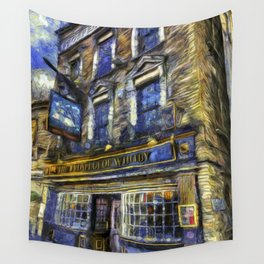 The Prospect Of Whitby Pub Art Wall Tapestry