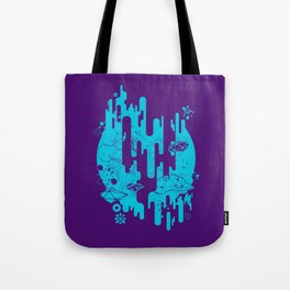 Galaxy of the Unknown by INS Tote Bag