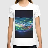 data T-shirts featuring Data Transmission by Tom Lee