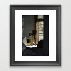 Back in Time - Morrisburg ON Framed Art Print