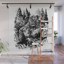 PACIFIC NORTHWEST SASQUATCH Wall Mural
