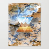 egypt Canvas Prints featuring EGYPT by sametsevincer
