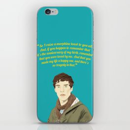 Benedict Cumberbatch as James  iPhone Skin