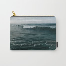 Surfing Ocean Beach San Diego Carry-All Pouch