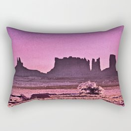 Navajo Land Rectangular Pillow