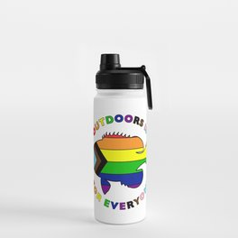 Diversity and Inclusion Fish Water Bottle