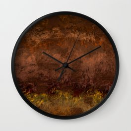 The Venusian Clouds Wall Clock