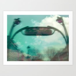 FANTASTIC ARTERIES Art Print