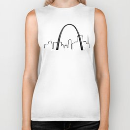 Saint Louis Skyline Biker Tank