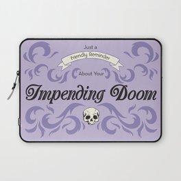 Impending Doom Laptop Sleeve