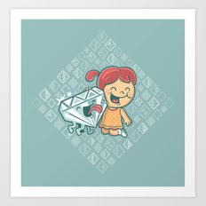 Best Friends Are Forever Art Print