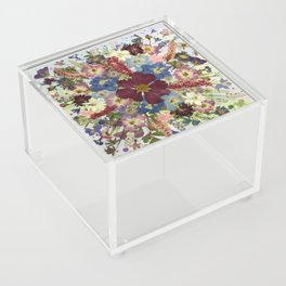 Flower Burst Acrylic Box