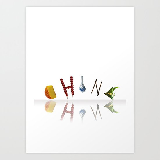 Food Series - China Art Print